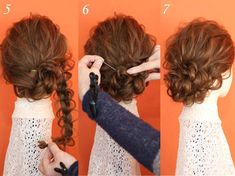 Short hair arrangement when busy! Casual and versatile up style taught by professionals (March 2017 - ヘアアレンジ - Hairdos Ideas Bun Hairstyles, Wedding Hairstyles, Hair Arrange, Hair Setting, Hair Pictures, Hair Dos, Bridal Hair, Curly Hair Styles, Hair Beauty