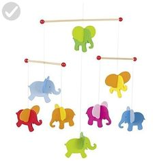 Buy our Elephants Mobile from our range of Room Accessories online now at Mulberry Bush. Room Accessories, Decorative Accessories, Decorative Items, Toys For Little Kids, Kids Toys, Nursery Modern, Nursery Neutral, Mobiles, Elephant Mobile