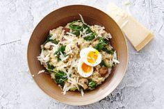 Eten als de Italianen? Weg die lepel, want risotto eten zij met een vork. - Recept - Allerhande