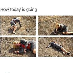 So funny!! Pretty damn accurate...
