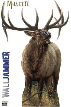 Cabela's Elk Wall Decal