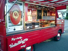 Volks Waffle - great food truck... if they ever come to your town check them out!
