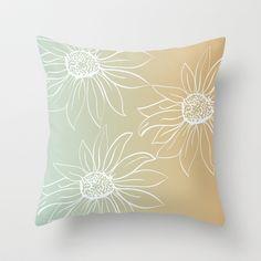 Pretty Daisies Throw Pillow   - $20.00