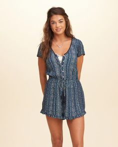 Hollister rompers & jumpsuits are a total must-have for awesome summer  style.
