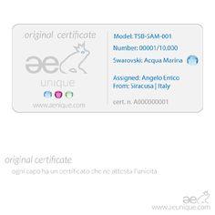 Certificate ae unique