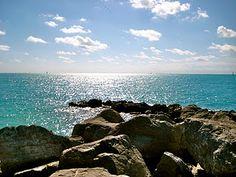 Fort Zachary Taylor beach, Key West, FL