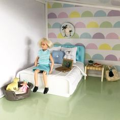 The new Creative Dollhouse from Lundby is starting to feel like home (image: @littlefishcreationsaus) https://lundby.com.au/