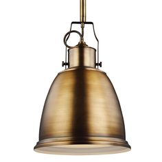 P1359AGB,1 - Light Pendant,Aged Brass