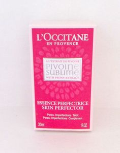 L'Occitane Peony Essence Skin Perfector #Loccitiane