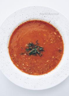 Karabuğday Çorbası