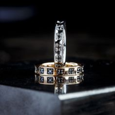 Black Diamond, Duke, Class Ring, Jewelry Making, White Gold, Band, Detail, Rings, Collection