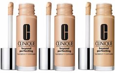 tried this at Birmingham Bullring the other day. REALLY HIGH COVERAGE, yet thin in itself. will deffo grab this after i'm done with mine currently. #Clinique Beyond Perfecting Foundation   Concealer for Spring 2015