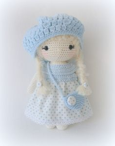 My Doll Klara; very cute but no English pattern