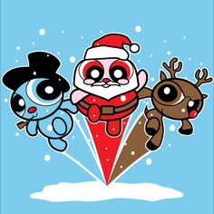 """LAST CHANCE TEE: Missed yesterday's """"Christmas Puff Heroes"""" shirt? Find it @Gail Regan Truax://www.unamee.com/index.php/lastchancetee. 3 shirt col..."""