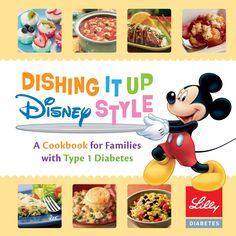 Ask your endocrinology healthcare provider for a free copy of Lilly Diabetes' and Disney's T1D cookbook! Find links to all the recipes here.