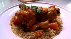 Tajine de poulet Grains, Rice, Chicken, Meat, Food, All Recipes, Favorite Recipes, Essen, Yemek