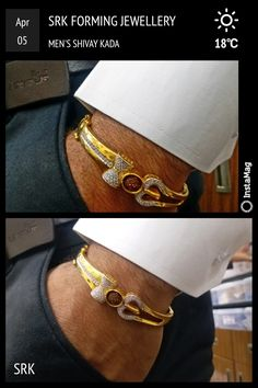 Gold Chain Bracelet Mens, Mens Gold Jewelry, Mens Gold Rings, Bangle Bracelets, Gold Bangles Design, Gold Jewellery Design, Gents Bracelet, Jewelry Design Earrings, Gold Fashion