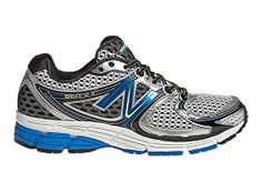 New Balance 860v3 - Silver with Blue Atoll & Black