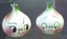 DeForest Bar-B-Cutie Onion Face Salt & Pepper Shakers by Cathygio, via Flickr