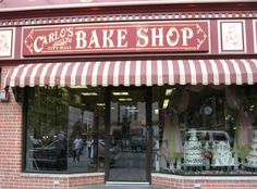"Carlo's Bakery, of ""Cake Boss,"" is in Hoboken, New Jersey. Would love to visit here ! and eat some CAKE ! Cannoli, Carlos Bakery Hoboken, Cake Boss Bakery, Bolos Cake Boss, Buddy Valastro, Nyc, Need A Vacation, New York Travel, Adventure Is Out There"