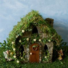 Fairy House Fairy Garden Outdoor Fairy House by enchantedgardens