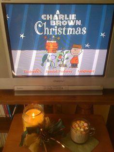 Todo un clásico navideño, Snoopy y chocolate con malvaviscos!
