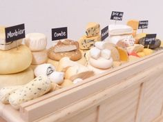 cheese :) miniatures