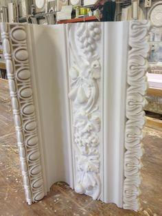 Cornice detail www.armcornice.co.uk Plaster Mouldings, Plaster Walls, Crown Moldings, Yellow Headboard, Ceiling Coving, Door Frame Molding, Steinmetz, Plaster Of Paris, Tadelakt