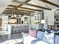 Ranch Cottage with Transitional Coastal Interiors