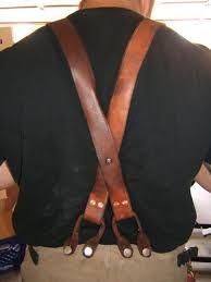 Afbeeldingsresultaat voor leather suspenders