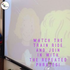 We watched the version on the learning platform Espresso! Early Reading, Rainbow Fish, Eyfs, Train Rides, Narnia, Espresso, Literacy, Trains, Transportation