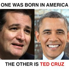 Funniest Ted Cruz Memes: One of These Men Was Born in America