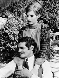 Barbra Streisand    Omar Sharif  In Funny Girl Background  Settings