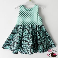 Sophia Dress - PDF Pattern and Instructions - 12M to 8T  this is so cute!!  Emmy loves twirly dresses!