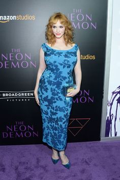 Christina Hendricks Photos - Premiere of Amazon's 'The Neon Demon' - Arrivals - Zimbio