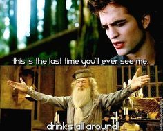 no more edward? drinks all around!