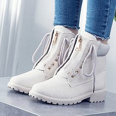Kongsta Warm Snow Boots Calzado Winter Boots Women Sapato Feminino Boots Women Ankle Boots Candy Color Platform Shoes