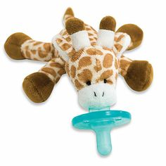 WubbaNub infant pacifiers have become a necessity for all new babies. Wubbanub baby pacifiers are soothie pacifier attached to a plush giraffe Wubbanub Pacifier, Binky, Best Pacifiers, Bag Essentials, Done By Deer, Everything Baby, Baby Time, Plush Animals, Stuffed Animals