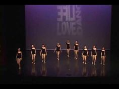 Black and Gold- Jazz Dance