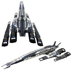 Mass Effect Normandy Ship Replica