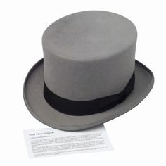 How to Make a Formal Top Hat Out of Felt