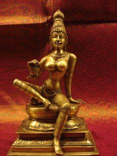 Goddess PARVATI, South India Style.