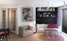 Zdjęcie: Salon styl Skandynawski - Salon - Styl Skandynawski - Finchstudio Architektura Wnętrz