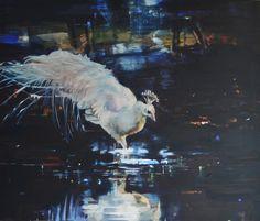 Eva de Visser – Title: Lure (Verlokking). Oil on canvas. W: 110 cm x H: 130 cm. Exhibited by Art Gallery Terbeek, 2016.