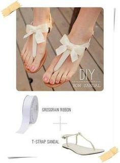 Moderniza tus sandalias!
