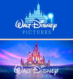 Disney logo: then and now