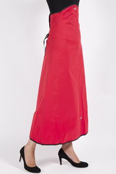 Red Rainwrap €55. Available at Irish Couture, Powerscourt Townhouse Centre, Dublin 2, Ireland.