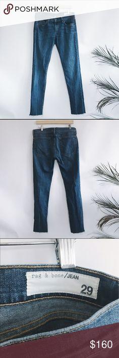 Rag & Bone jeans size 29 Dre Fit • size 29 • rarely used w/ no signs of wear • relaxed slim boyfriend fit • orig price $225 rag & bone Jeans Boyfriend