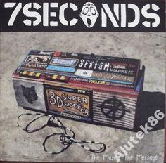 7 SECONDS - THE MUSIC,THE MESSAGE - PROMO /MINT