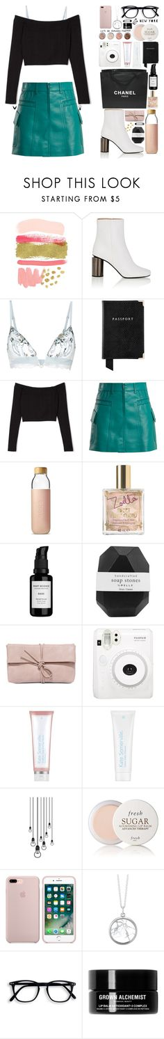"""""Look What You Made Me Do"""" by biscuitatlas ❤ liked on Polyvore featuring WALL, Acne Studios, La Perla, Aspinal of London, Prada, Soma, Chanel, Zoella Beauty, Root Science and Pelle"